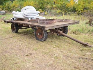 Old Flat Rack Wagon  19ft x 7ft 8