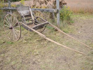Antique Horse Drawn Sulky