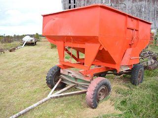 Gravity Wagon on Gear