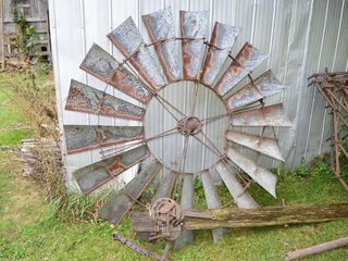 6ft Windmill Fan and Parts and tower