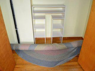 Melamine Shelf set and hook rug  7 5ft
