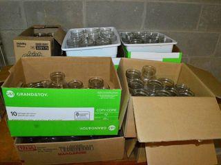 large Assortment on Canning Jars