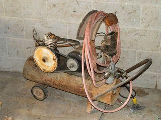 Homemade Elec  Air Compressor