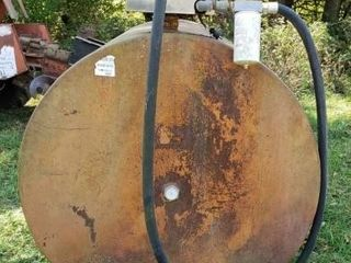 500 Gal  Fuel Tank w Electric Pump Diesel