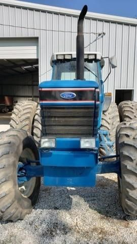1990 Ford 8830 Power Shift Tractor w Cab