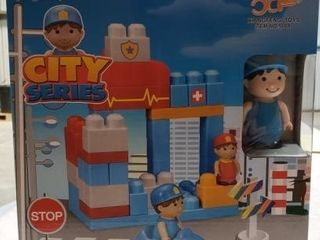 City Series Police   Rescuers 36pc  Toy Set