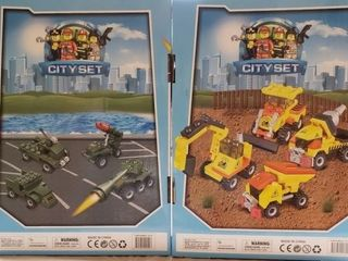2 Sets of Totally Cool Toys City Sets for Boys