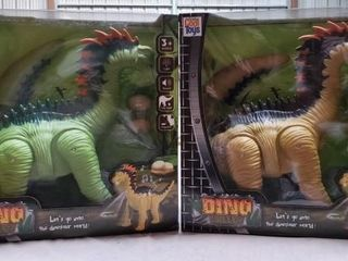 2 Totally Cool Toys Dino Valley Dinosaurs