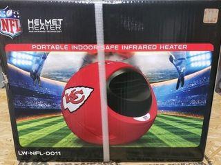 KC Chiefs Portable Indoor Infrared Heater