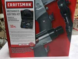Craftsman 10pc  Mechanics Air Tool Kit