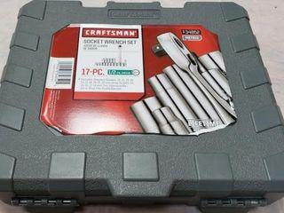 Craftsman 17pc  Socket Wrench Set