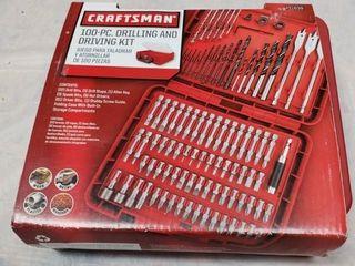 Craftsman 100pc  Drilling   Driving Kit