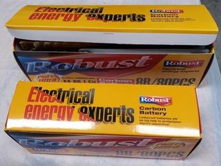 Robust Boxes of AA   AAA Batteries