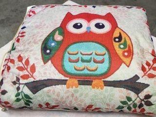 Owl Print Pillow Blanket