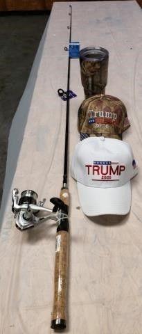 Fishing Pole  Tumbler   Trump Ball Caps