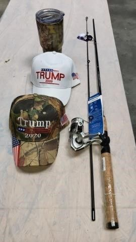 Rod   Reel  Trump Ball Caps   Tumbler