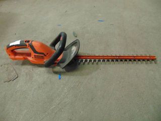 22  CORDlESS HEDGE TRIMMER
