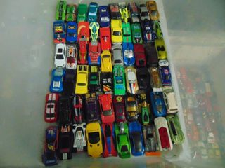 60 Toy Cars