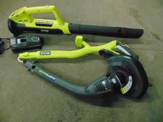 STRING TRIMMER AND lEAF BlOWER
