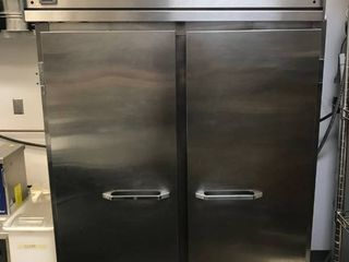 Master Bilt IHC 48 34 5 Cu  Ft  Two Section Ice Cream Hardening and Holding Cabinet