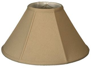 Royal Designs Empire lamp Shade  linen Beige  8 x 22  x 13 25  Retail 112 49