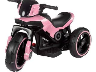 lil  Rider Ride On Toy Trike Motorcycle  Pink  Battery Operated  Retail 107 49