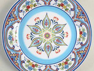 Euro Ceramica Zanzibar Plate Set  Only have 3 of 4 Plates