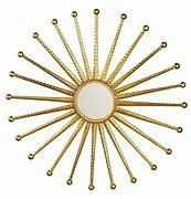 Kandi Gold Starburst Decorative Wall Mirror  Retail 87 49