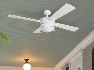 Copper Grove Ayre 52  White Outdoor 4 blade Ceiling Fan  Retail 112 99
