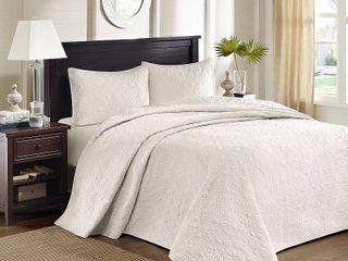 Madison Park Mansfield Reversible Bedspread Set  King  Retail 139 97