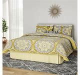The Curated Nomad la Boheme Yellow  Full Comforter and Cotton Sheet Set  Retail 97 99