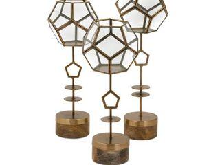 Jada Terrarium Stands   Set of 3