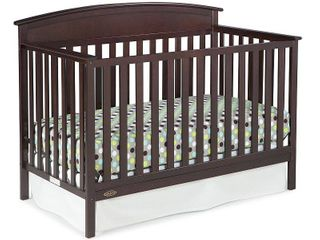 Graco Benton 4 in 1 Convertible Crib Easily Converts to Toddler Bed  Daybed or Full Size  Retail 206 99