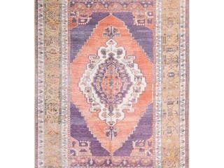 Sasha Vintage Bohemian Medallions Area Rug  7 6  x 9 11  Retail 265 49