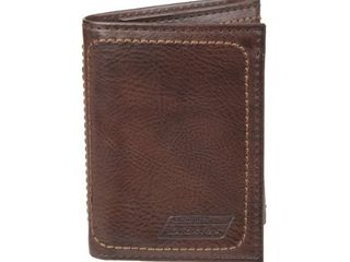 Dickie s RFID Blocking Extra Capacity Trifold Wallet with ID Window
