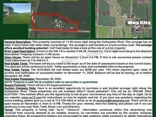 11.99 acres near May City, IA