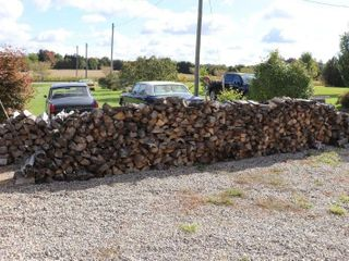 QUANTITY OF FIREWOOD   APPROX  8 CORD