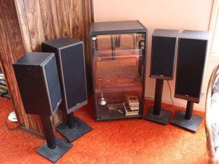 PIONEER RADIO  RECORD PlAYER  KOSS SPEAKERS