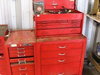 SNAPON 2PC MECHANICS TOOl CHEST WITH