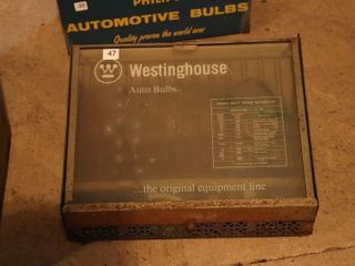 WESTINGHOUSE AUTO BUlB CABINET   14