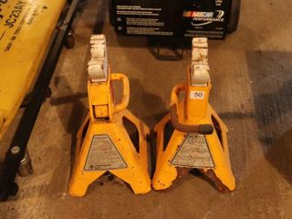 PAIR OF 6000 lB JACK STANDS