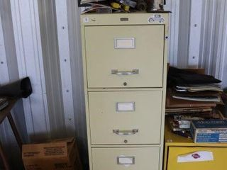 4 DRAWER FIlE CABINET   CONTENTS