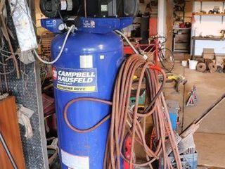 CAMPBEll HAUSFElD 5 HP 60 GAl AIR COMPRESSOR