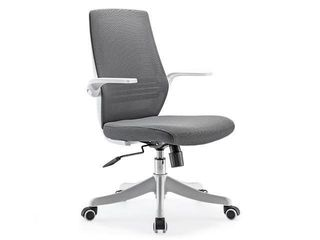 SIHOO M76 M103 Mesh Office Chair  Office Desk Chair  Breathable Chair with Comfortable lumbar Support  liftable and Reversible Armrest  Nylon Silent Casters Grey