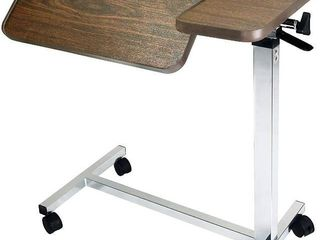 Vaunn Bedside Table on Casters for Hospital and Home Use