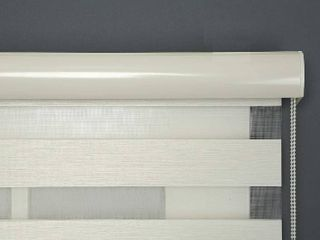 ShadesU Zebra Double layer Blinds and Shades to Filter light in Windows  Maximum Height 72