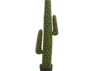 Nearly Natural 4 5  Cactus Artificial Plant   MISSING THE BASE