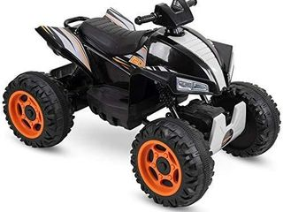 Huffy Kids Electric Battery powered Ride on Atv Truck W lights Sounds   Mp3 P