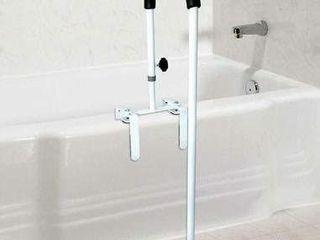 Floor to Tub Bath Safety Rail