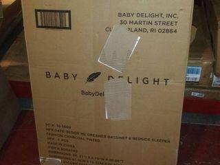Baby Delight Beside Me Dreamer Bassinet   Bedside Sleeper   Charcoal